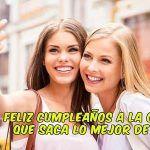 tarjeta cumpleaños amiga