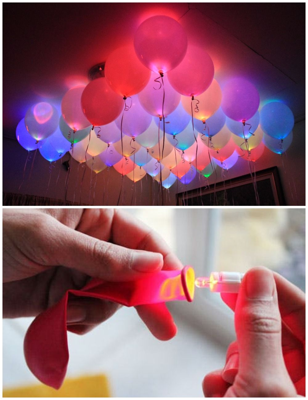 decoracion de cumpleaños con globos