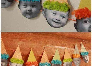 decoracion de cumpleaños sombreros fiesta