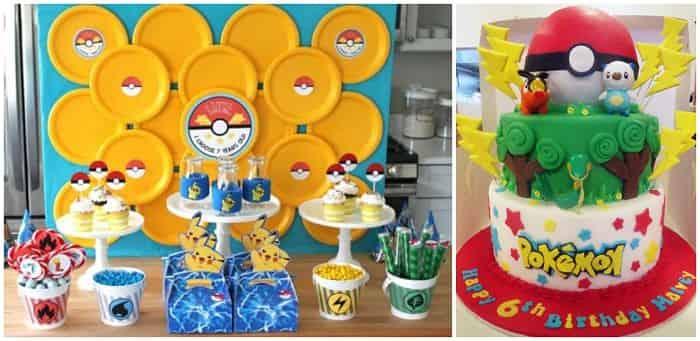 decoracion fiestas cumpleaños infantiles Pokemon
