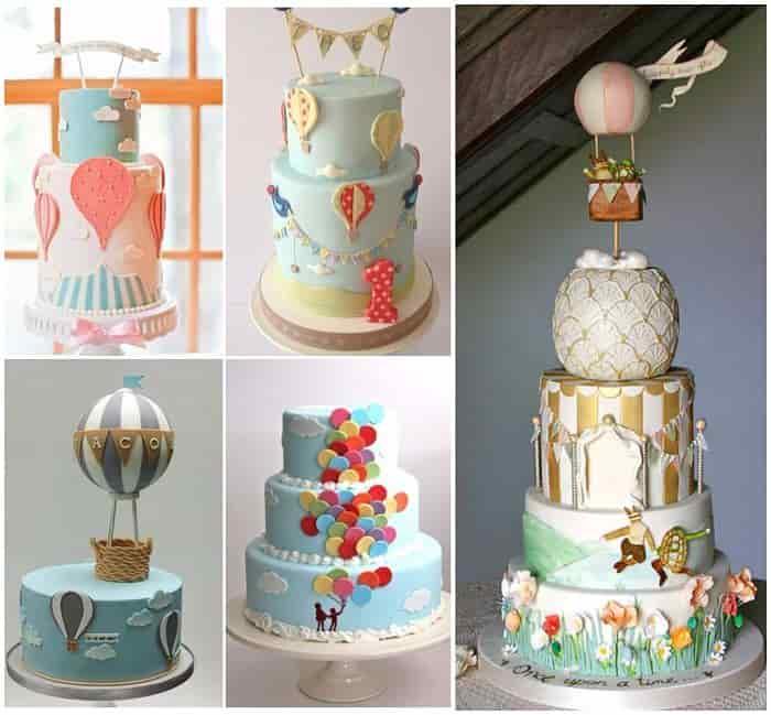 adornos para tortas de cumpleaños