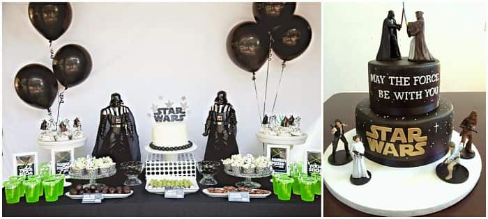 decoracin cumpleaños fiestas infantiles star wars